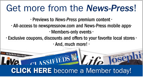 MEMBERS ONLY - Members login to receive access to News-Press digital content including members only deals. - Click here to login.